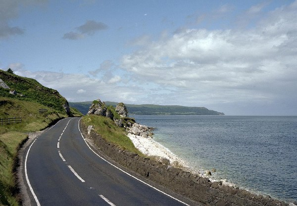 Antrim Coast Road North-Ireland