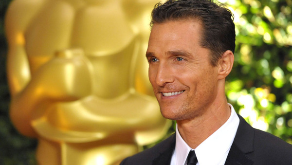 Matthew McConaughey attends the 2013 Governors Awards, on Saturday, Nov. 16, 2013 in Los Angeles (Photo by John Shearer/Invision/AP)
