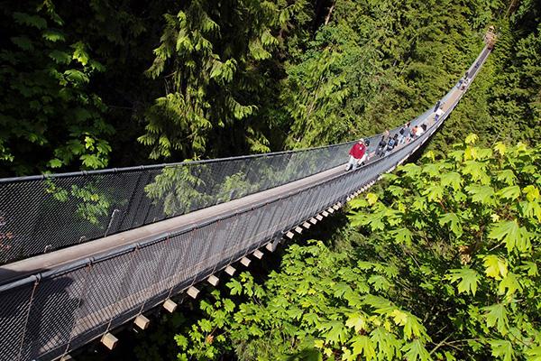 Capilano Suspension Bridge Park Canada