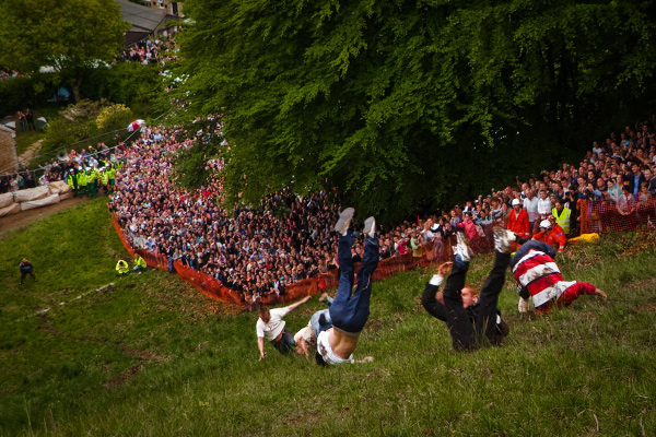 Cooper Hill's Cheese Rolling and Wake