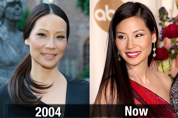 Lucy Liu Never Aging