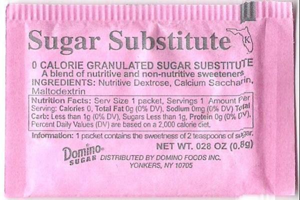 Sodium Saccharin Molecule in Toothpaste