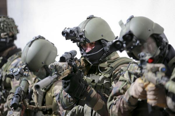 French GIGN Commandos
