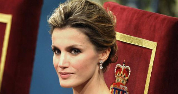 Beautiful Princess Letizia of Asturias
