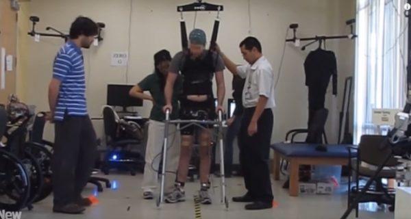 Paralyzed Man Walks Again with the Help of Brainwaves