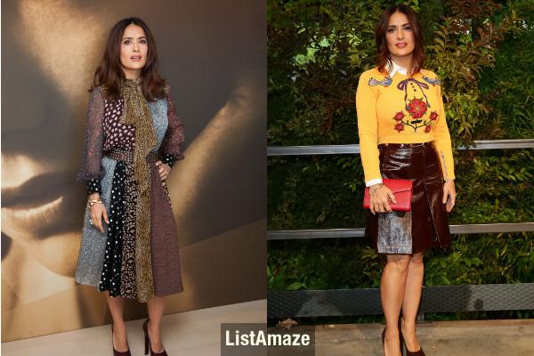 Salma Hayek Short Beautiful Hollywood Actress