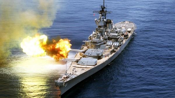 US Navy Iowa Battleship Most Powerful