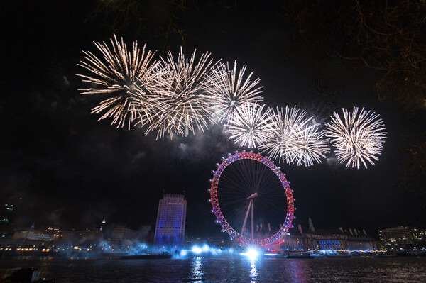 London in New Year