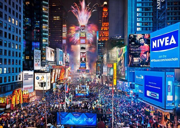 New York During New Year