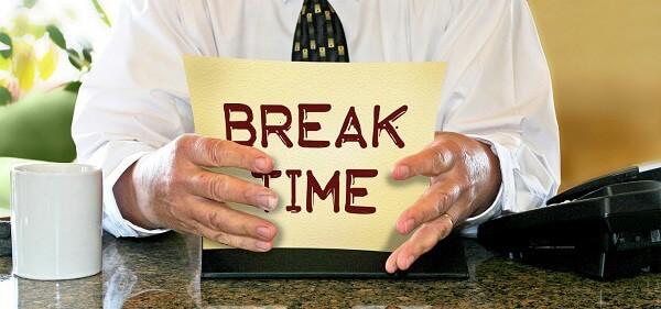 Take Breaks While at Work