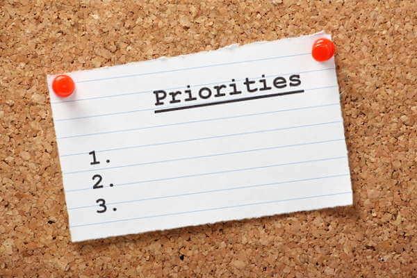 Work On Priorities