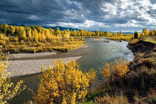 The Gros Ventre River