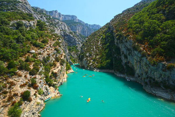 The Verdon River