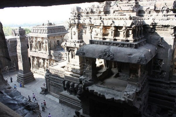 Kailasa Temple in Ellora Cave