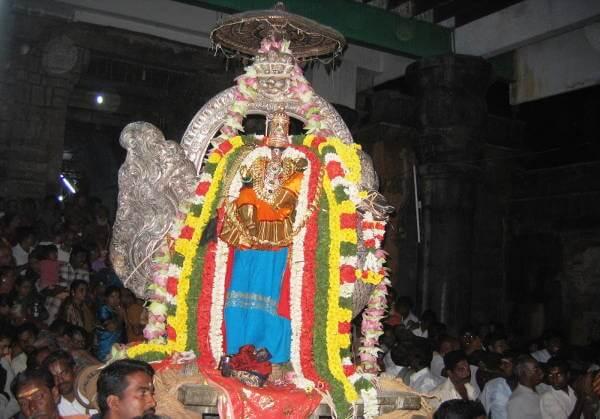 Nachiyar Koil in Tamil Nadu