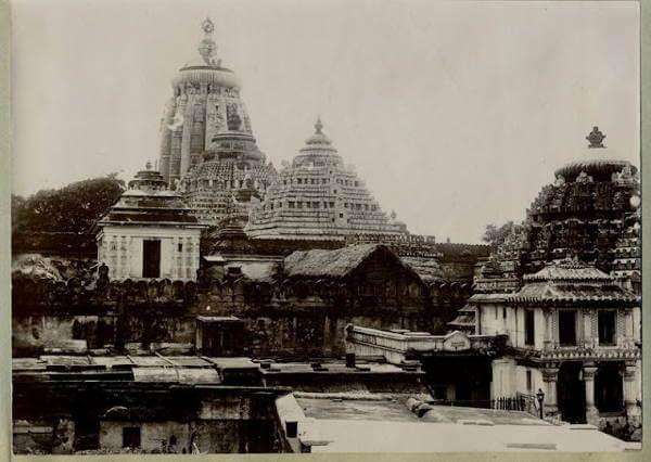 Puri Jagannath Temple in Orrisa