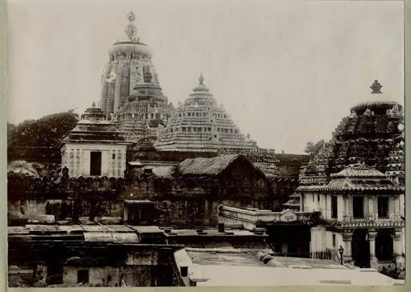 Puri Jagannath Temple in Orrisa
