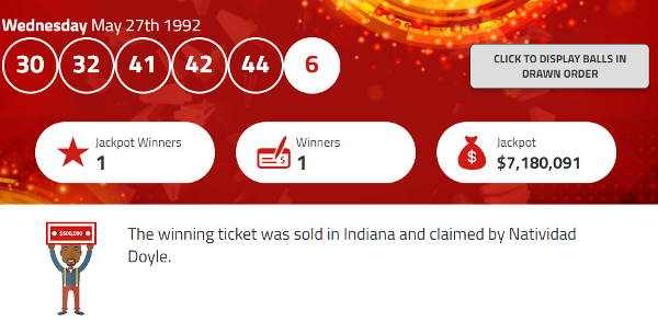 Natividad Doyle Lottery Winner