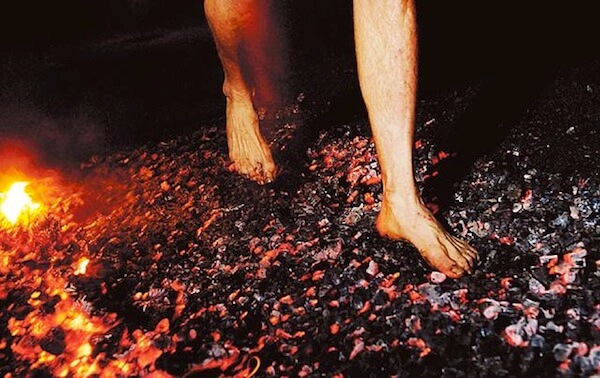 Firewalking Ritual