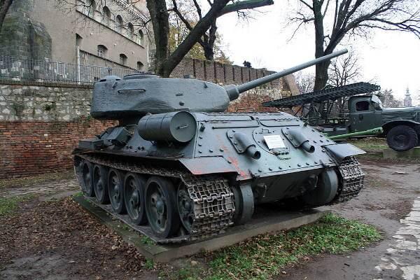T-34-85 Tank of Soviet Union
