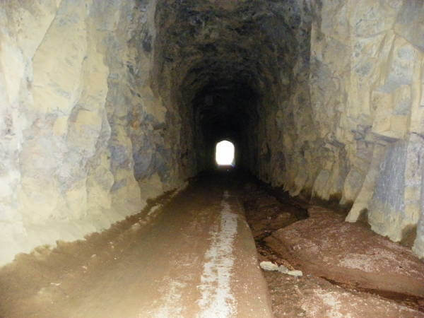 Gold Camp Road Tunnels