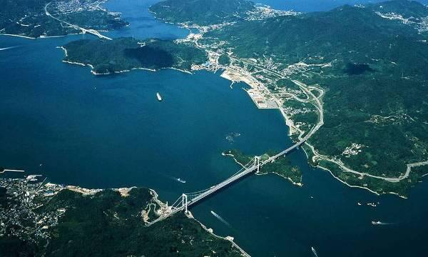 Manoike Dam is Near the Islands of Shikoku