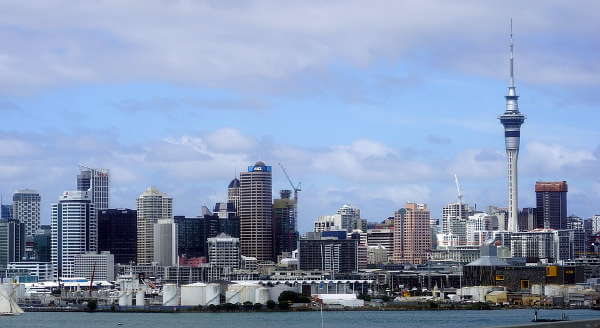 Auckland in New Zealand