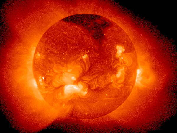 Sun Produces Energy Equal to 10 Billion Nulcear Bombs