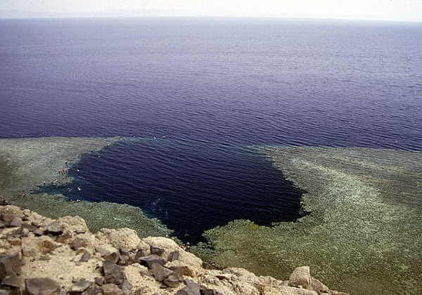 Blue Hole In Red Sea Egypt