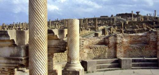 The Library at Timgad
