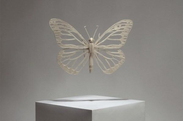 20 Stunning Matchstick Creations Butterfly