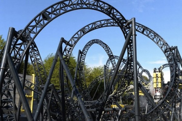 The Smiler Roller Coaster - Alton Towers