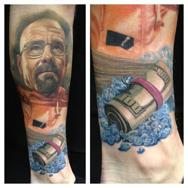 Walet White Tattoo