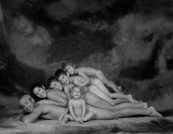 Awkward Stack Family Photo