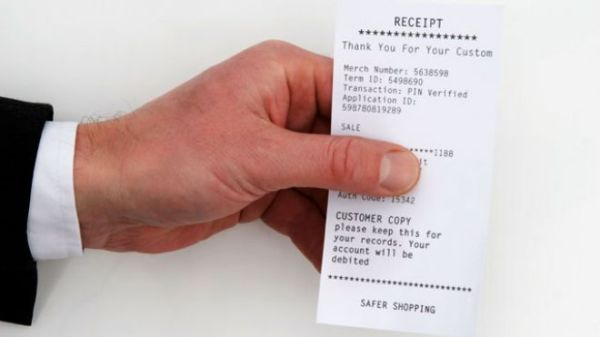 Receipts influence sperm count