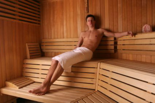 Saunas and sperm count