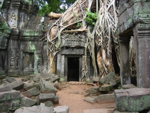 Abandoned Structure in Cambodia