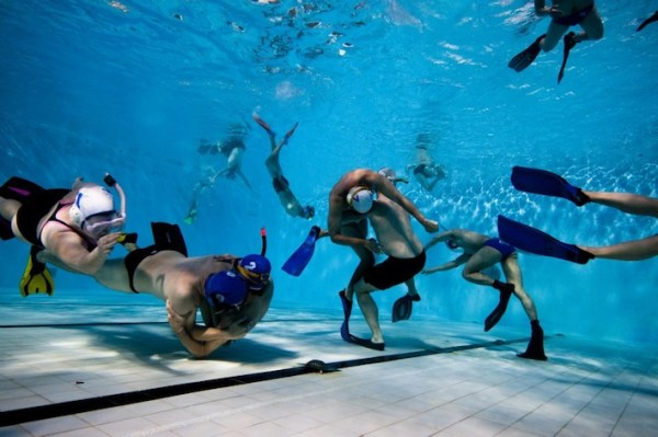Underwater rugby, unusual sports