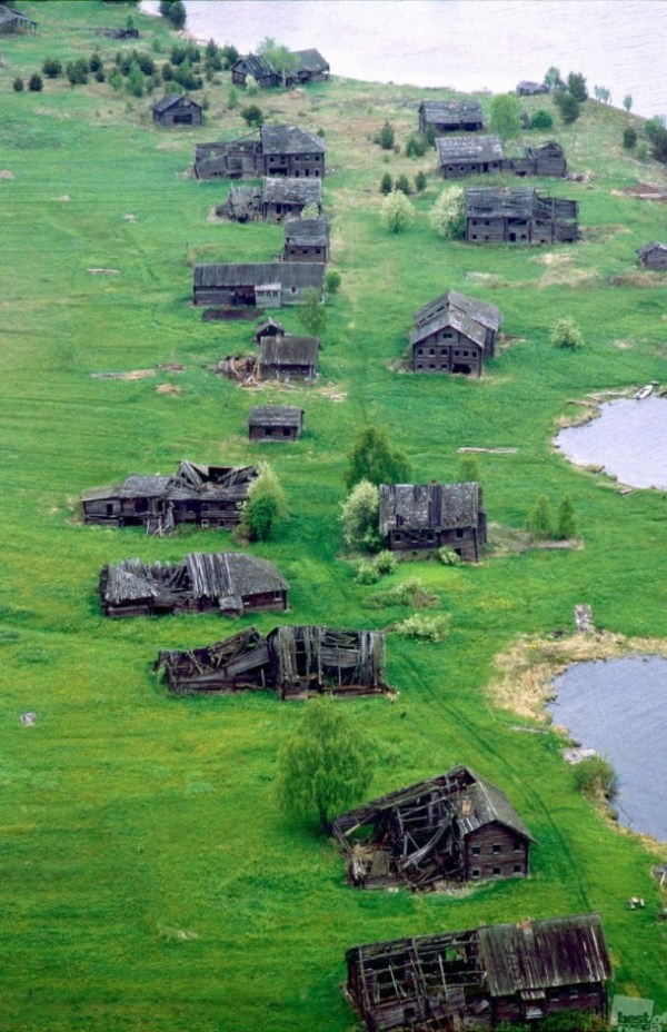 Abandoned village russia