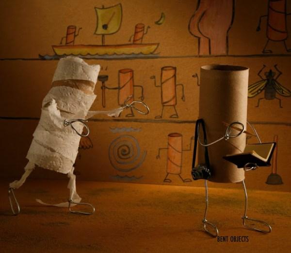 Mummy Bent Object