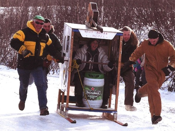 Outhouse Race