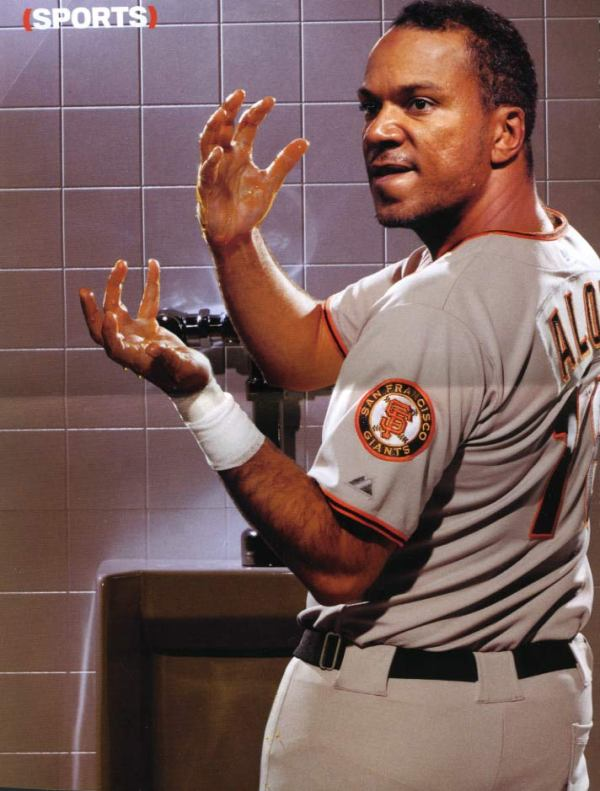 Moises Alou's bizarre tradition - urine facts