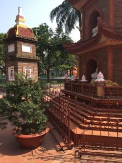 Pagoda Tran Quoc - Hanói