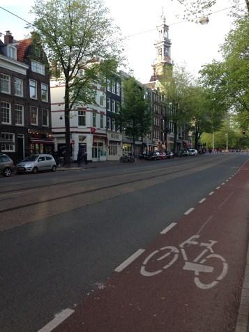 Ciclofaixa Amsterdam