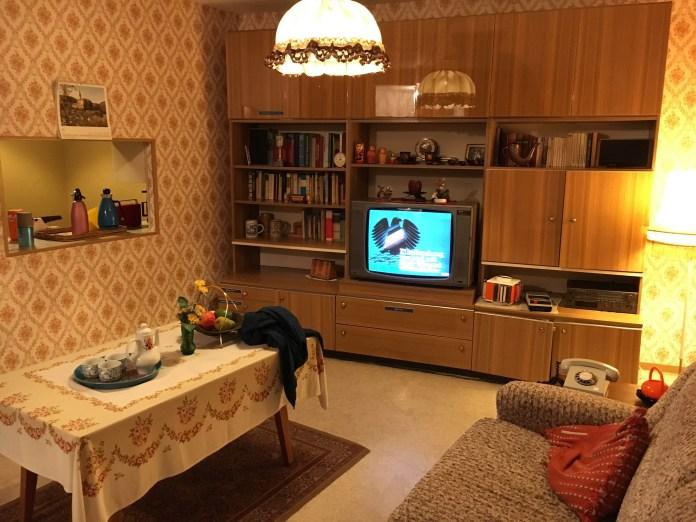 Museu DDR - modelo de casa da Alemanha Oriental