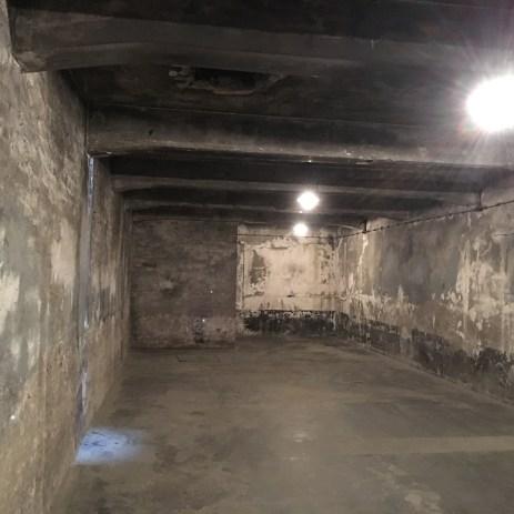 Auschwitz I - câmara de gás