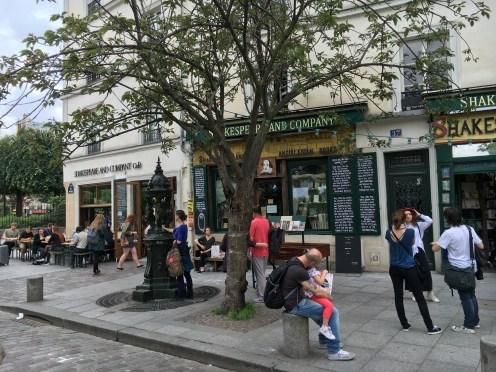 Café Shakespeare and Company