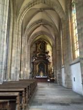 Interior da Igreja de Santa Bárbara