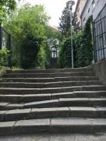 Trecho do percurso para chegar no Castelo de Bratislava