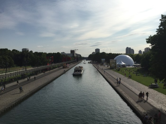 la villette canal